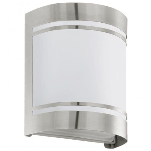 Eglo Outdoor 30191 Cerno Outdoor Wall Light Stainless Steel